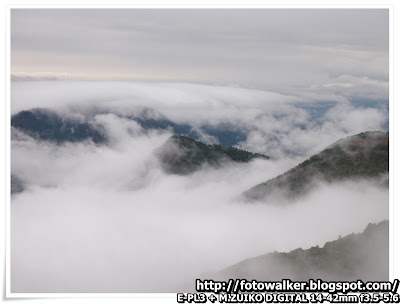 大帽山雲海