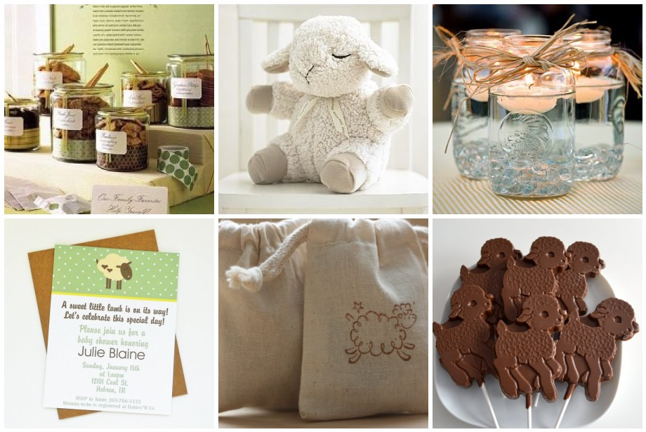 Baby Lamb Invitations as perfect invitation ideas