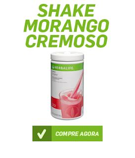 Shake Herbalife Morango Cremoso