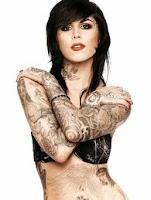 kat Von D sexy tattoos