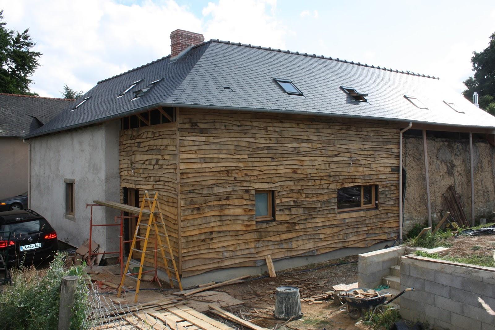 R novation maison en terre bauge extension for Methode sarking en renovation
