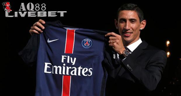 Liputan Bola - Baru saja bergabung dengan Paris Saint Germain (PSG), Angel Di Maria sudah memecahkan rekor. Ya, dia menjadi pesepak bola paling mahal dalam sejarah transfer pemain di dunia.