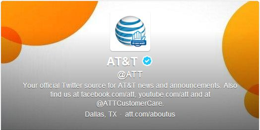 Best Cool Twitter Headers at&t