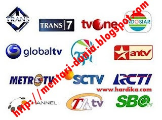 TV ONLINE TRANS7,TRANS TV,GLOBAL TV,MNC TV,INDOSIAR,RCTI,ANTV,TV ONE