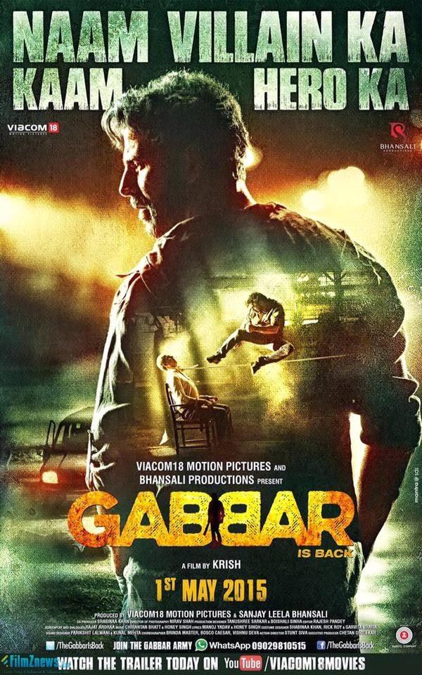 Gabbar Is Back (2015) New Poster 2