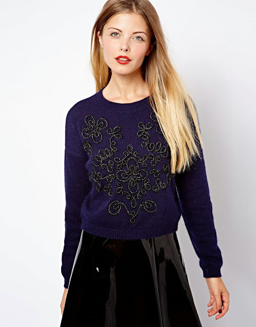 brocade jumper