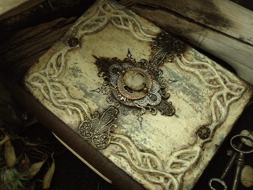 Fantasy Book Cover Tutorial : Altered alchemy gallery handmade journals