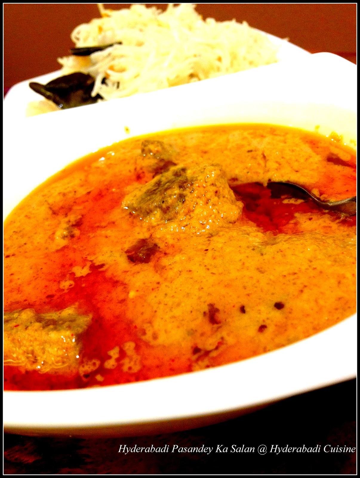 Hyderabadi Pasandey Ka Salan