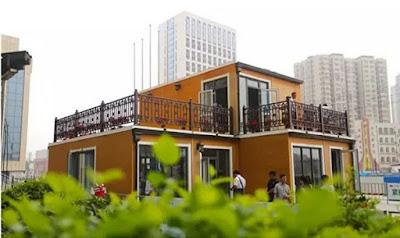 La casa modulare stampata in 3d della Zhuoda Group