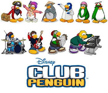 Pingüinos famosos de Club Penguin