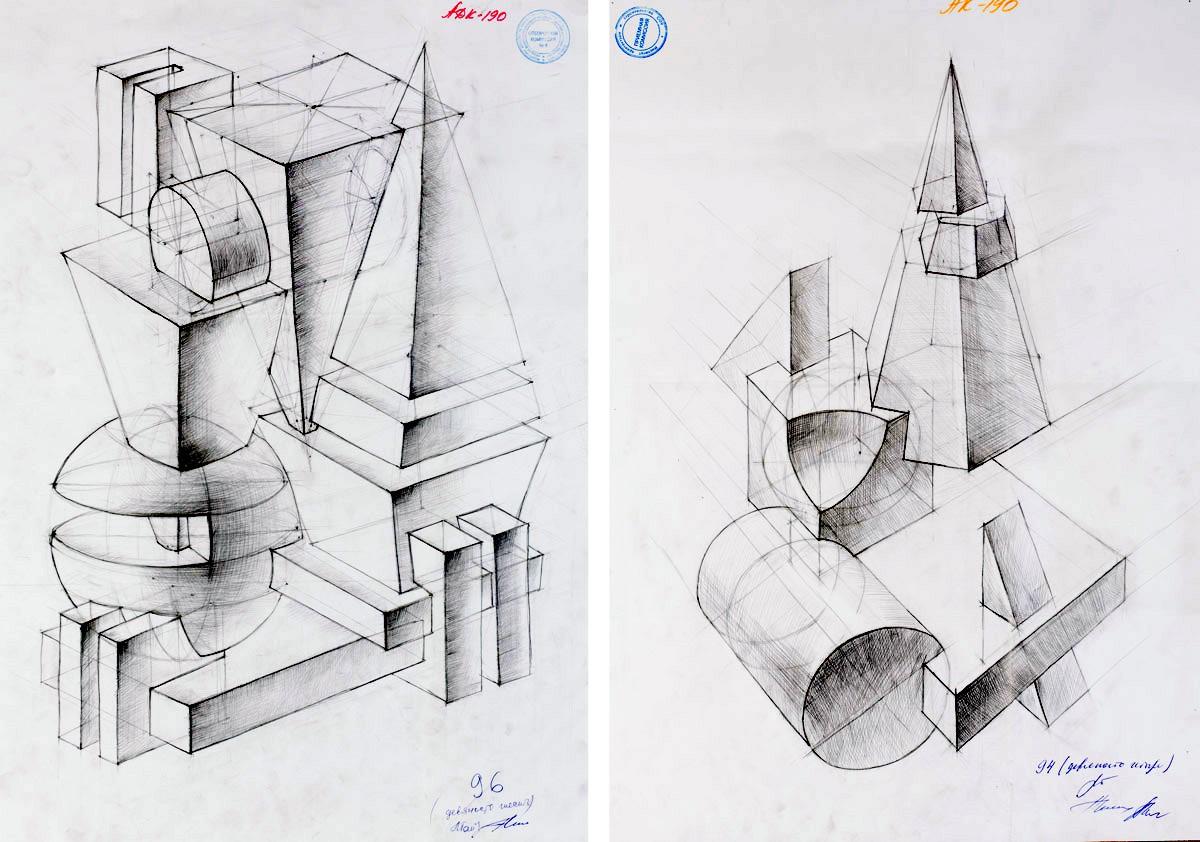 Вступительный рисунок на архитектуру