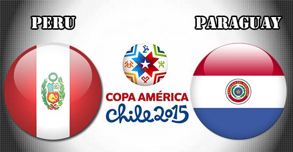 Peru vs Paraguay (Perebutan Juara 3) Copa America 2015