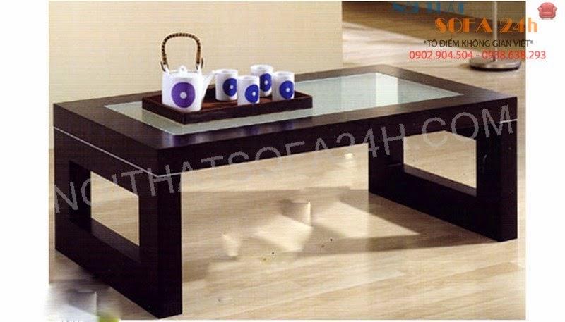 Bàn sofa gỗ BS077