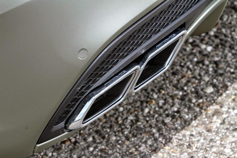 w205 amg exhaust