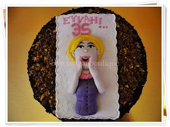 diyabetik doğumgünü pastası