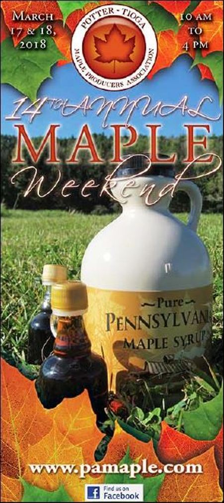 3-17/18 Maple Weekend, Potter-Tioga