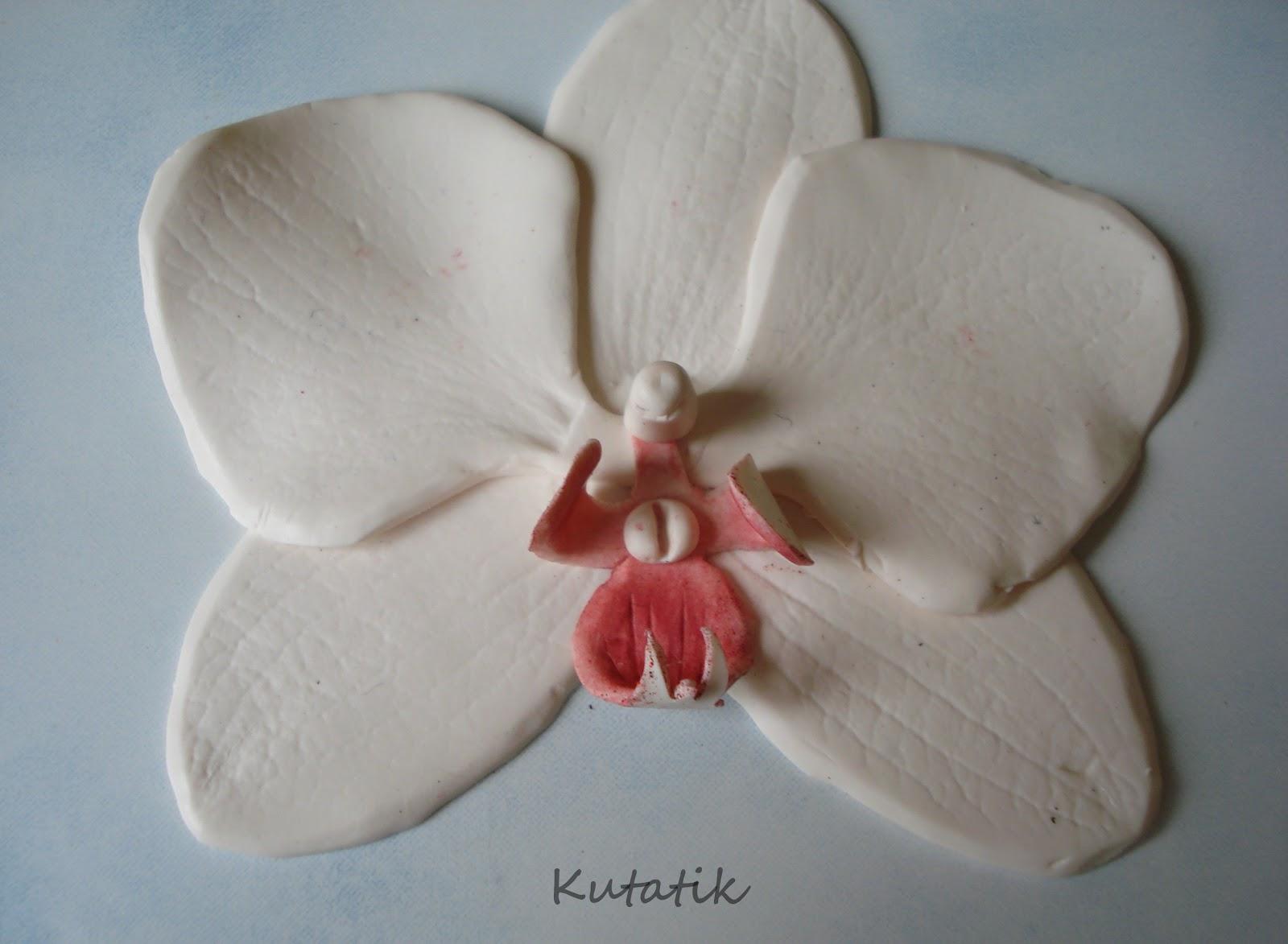 Tutoriel comment faire une orchid e en fimo le blog de - Comment couper les tiges d une orchidee ...