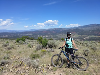 mountain bike, Lisa Gifford Mueller, Eagle, Colorado, Eagle Ranch, Lisa Mueller