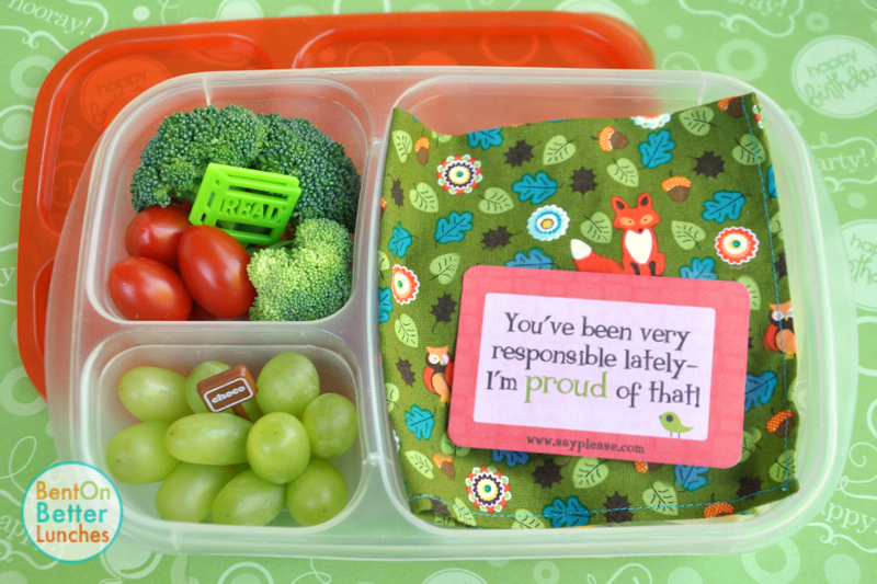 Roal Dahl Day bento school lunch by BentOnBetterLunches