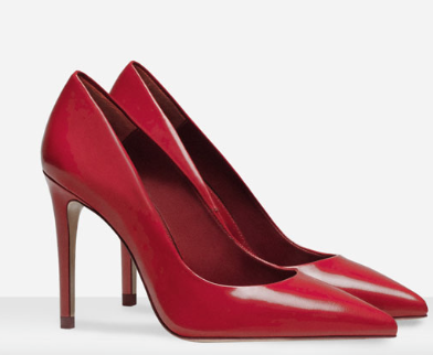 Rebajas SS 2015 complementos zapatos salón rojo