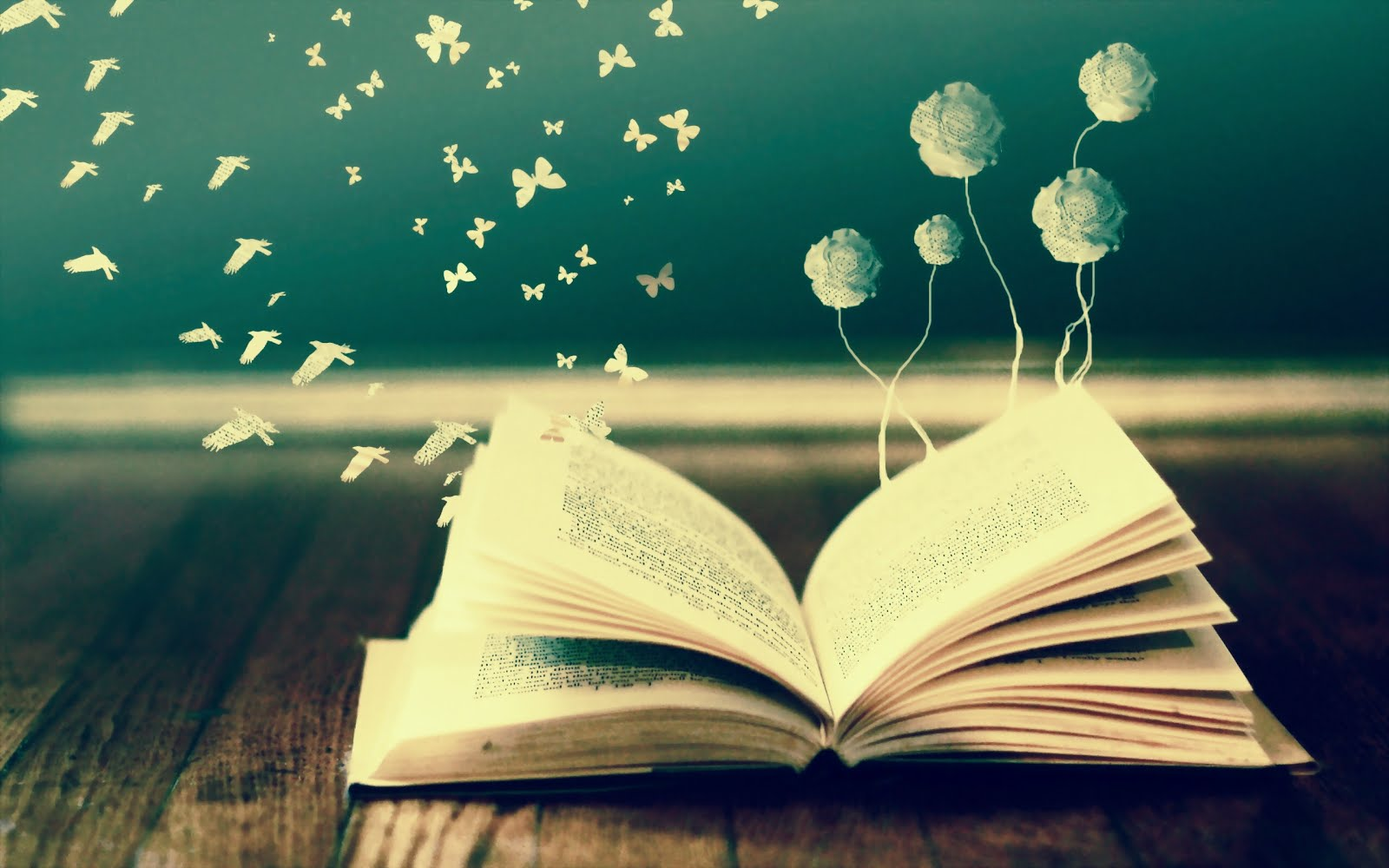 A good book is magical...