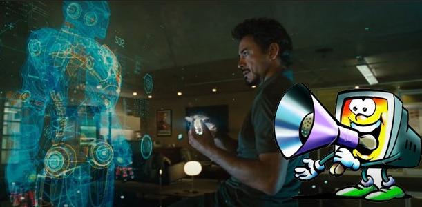 Komputer Berbicara, Jarvis Iron Man