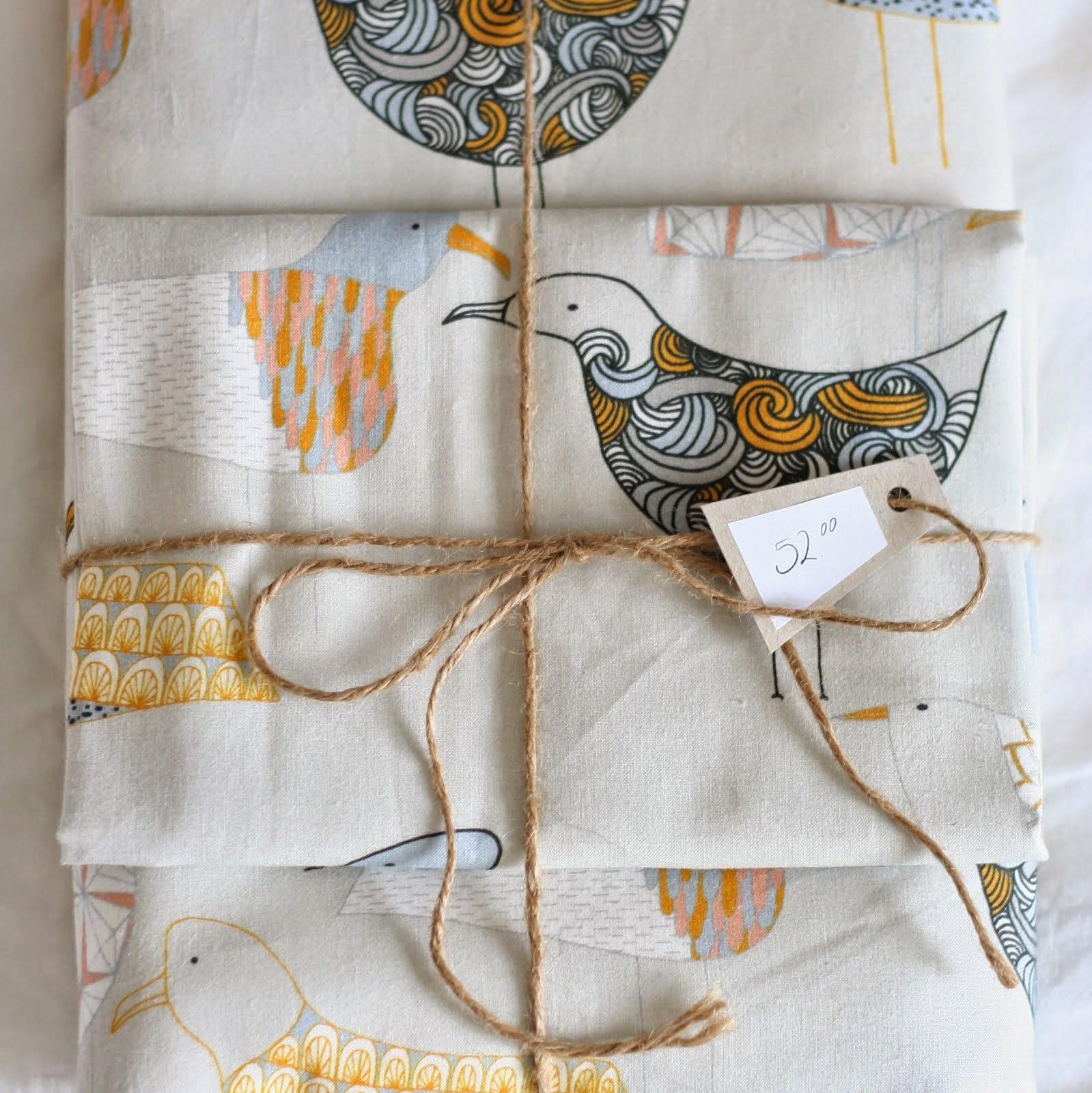 Pussilakanasetti - linnut