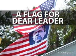 Vets angry Obama Flag replaced American Flag