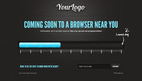 Coming Soon - Free Blogger Template