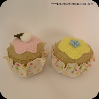 Crafty Nana Cupcake pincushion