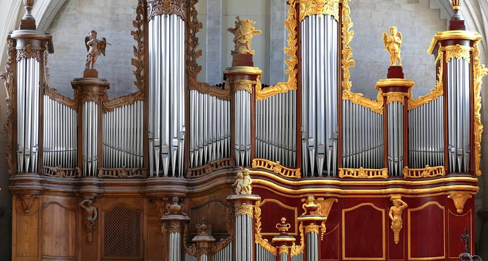 Mécénat pour la réfection de l'orgue de la cathédrale de Bordeaux