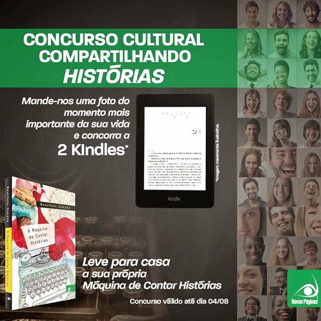 Concurso Cultural - Compartilhando Histórias