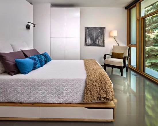 Desain Interior Kamar Tidur Utama yang Elegan dan Modern