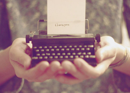 Tus palabras me abrazan