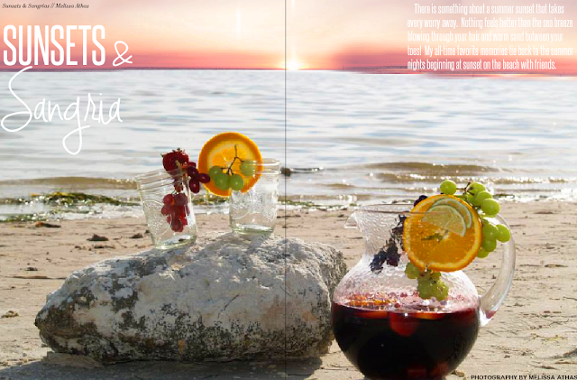 Sunsets & Sangria // LPF Mag Issue #4