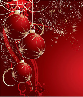 Desain Background Kartu Natal