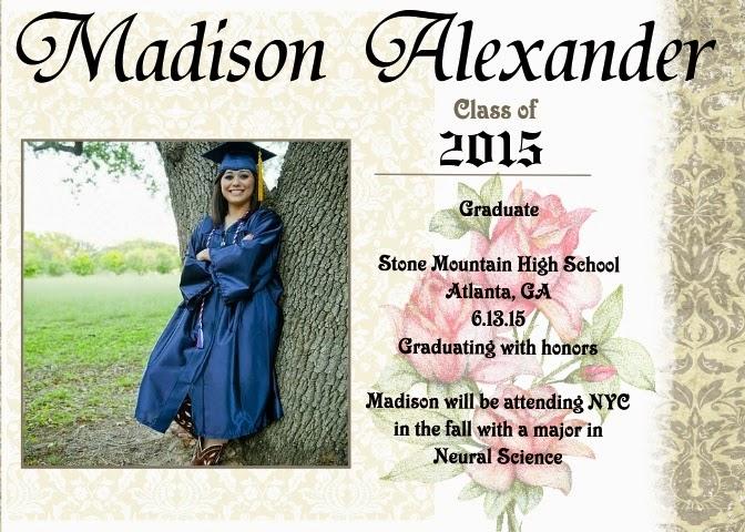 graduation graphic design, graduation announcement