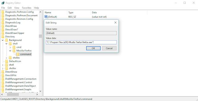 Menambahkan Shortcut Aplikasi pada Klik Kanan Desktop Windows (5)