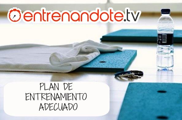 Plan de entrenamiento adecuado entrenandote tv entrenamiento online ejercicios en casa - Plan de entrenamiento en casa ...