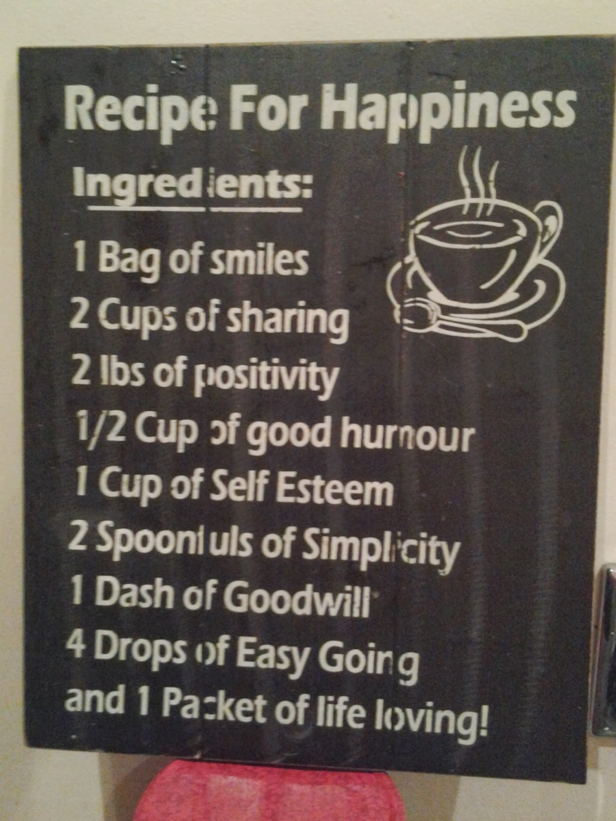 Is there a recipe for happiness 81