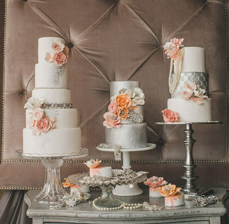 Cake Table Ideas For Weddings : Savannah Wedding Planning and Bridal Boutique: Ivory and ...