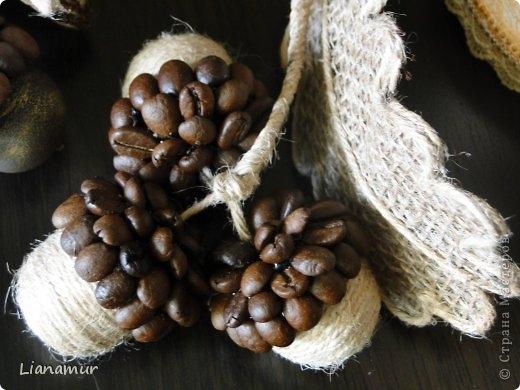 Master-Gon (Метаморфозы): Желуди, листья и прочие кофейные штучки (МК и идеи)