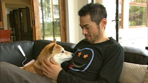 イチローの愛犬イッキュウは、人間の年齢では少なくとも70歳である。
