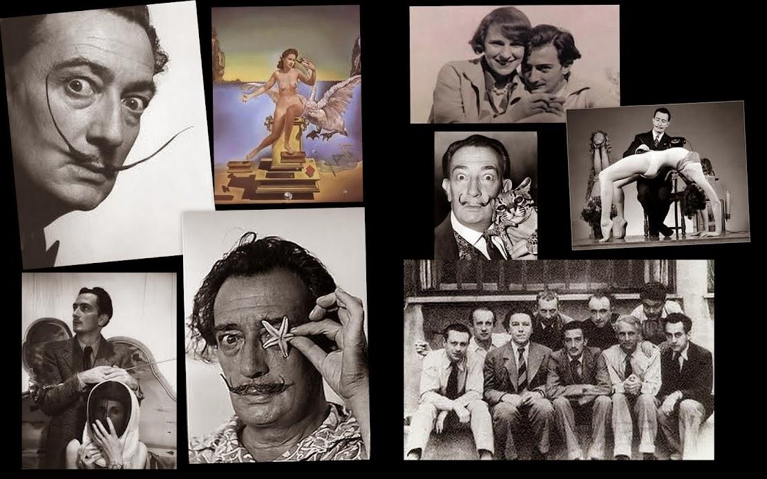 Salvador Dalí (1904-1989).