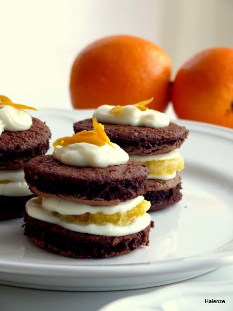 portakal kremalı pasta