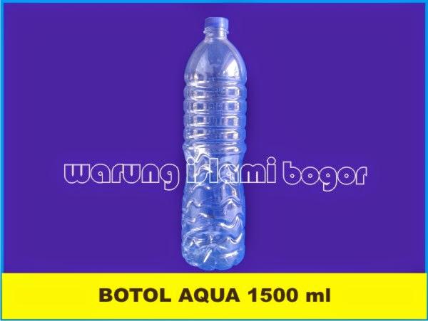 Jual Botol Aqua 1500ml