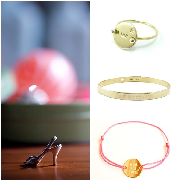 Desire: Delphine Pariente Medals, Bracelets, and Rings
