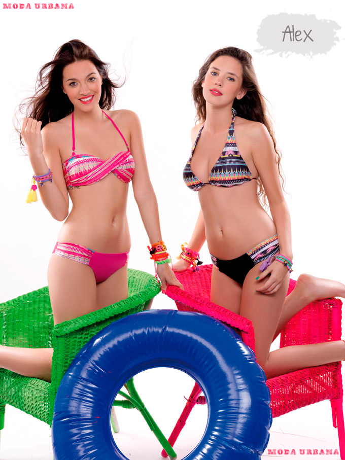 Sweet Victorian 2013 bikinis estampados