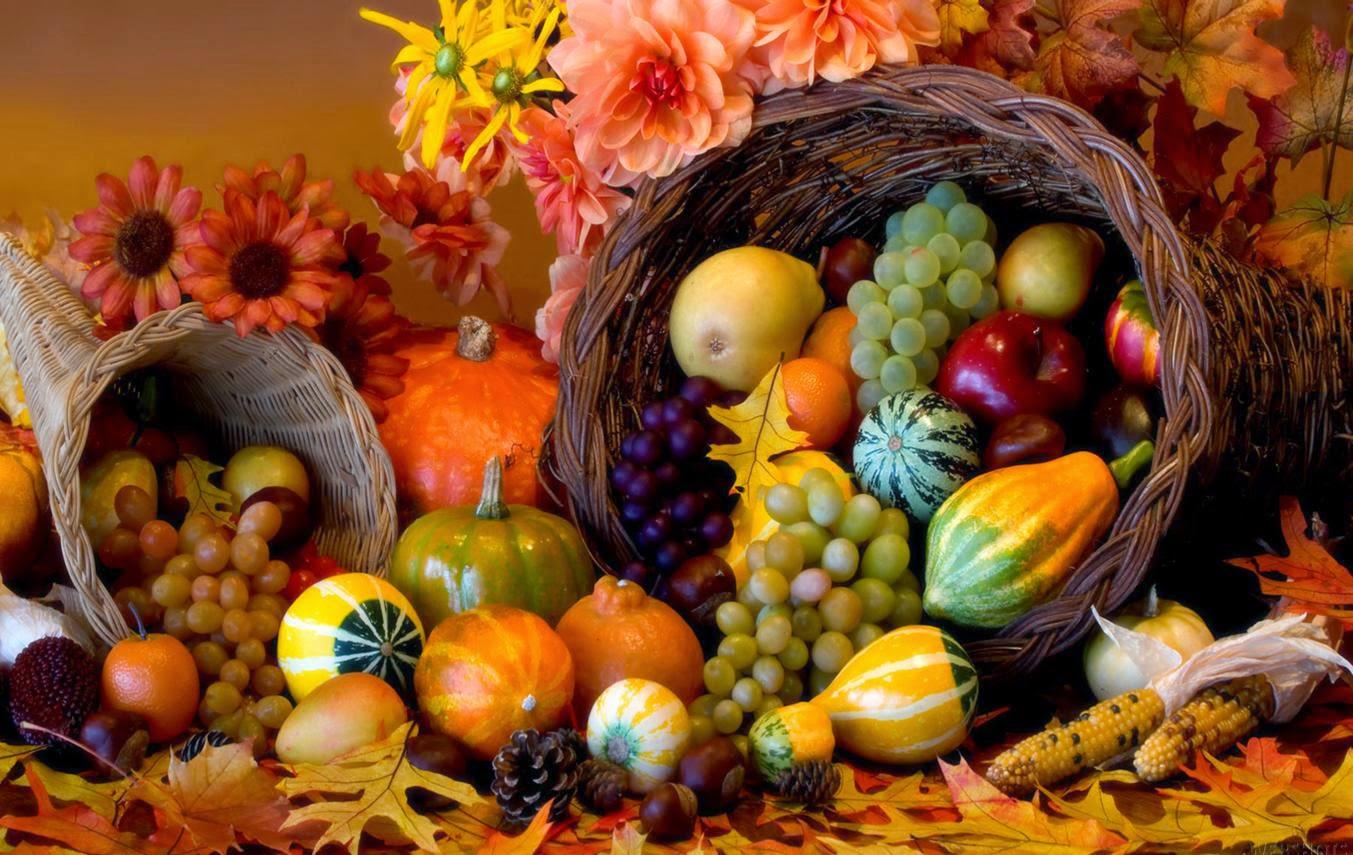 Thanksgiving Cornicopia