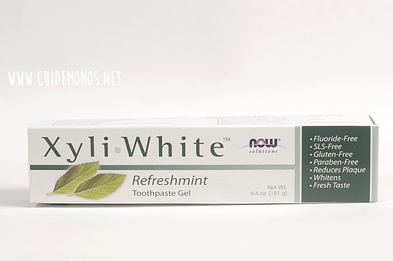 haul Iherb pasta de dientes xyli white now foods
